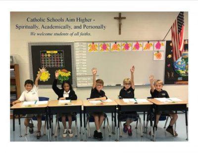 Catholic Schools aim higher